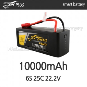 [예약판매][Tattu Plus] 10000mAh 6S 25C 22.2V