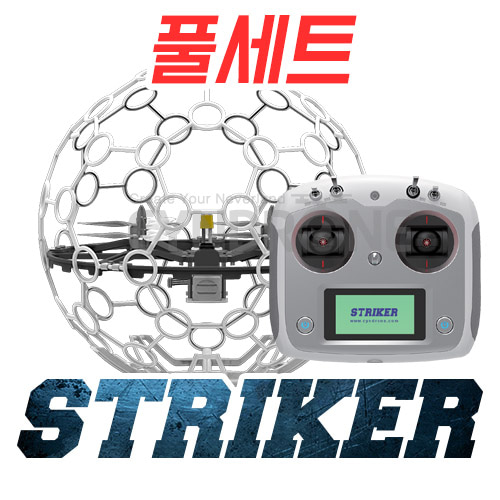 CYNDRONE] STRIKER RTF (Ready to Fly) | 스트라이커 | 드론축구