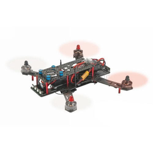 HoTT Race Copter Alpha 250  (조립버전) 헬셀