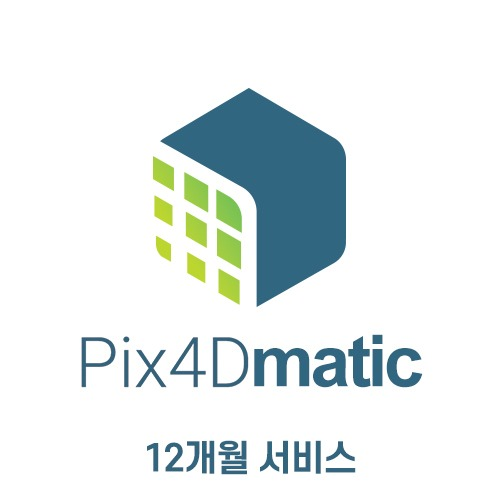 [Pix4D] Pix4Dmatic Monthly | 12개월 서비스 헬셀